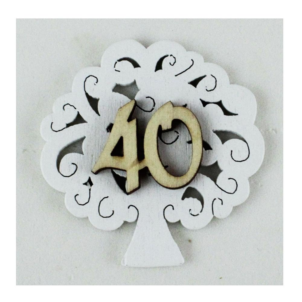 Estremamente DLM - Calamita Albero della Vita 40 Quarantesimo Compleanno Nozze QV51
