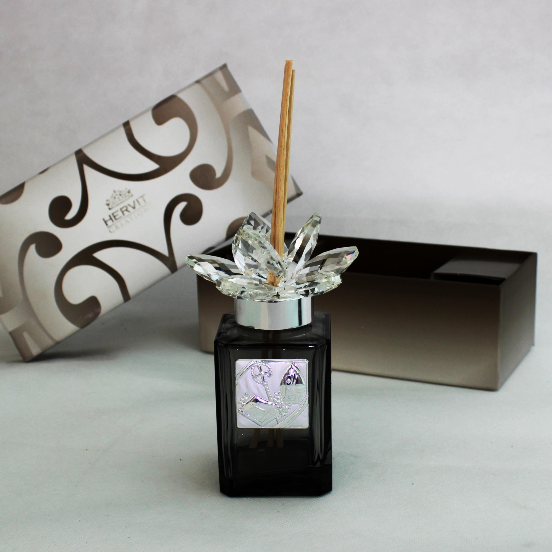 Profumatore Hervit con fiore in cristallo Cresima