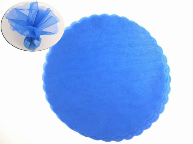 Tulle blu 24 CM PEZZI 50