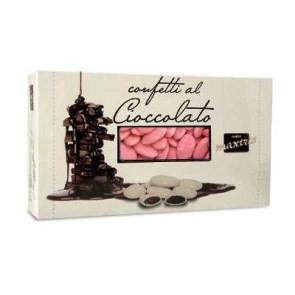 Confetti al cioccolato rosa