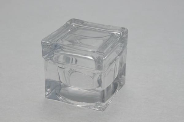 Scatola portagioie in vetro