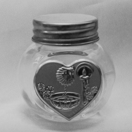 Barattolo in vetro con Fonte Battesimale