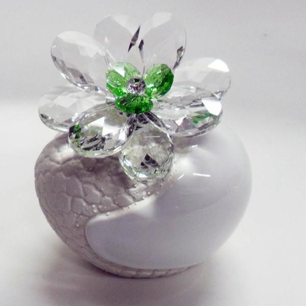 Variazione #17884 di Profumatore con fiore in cristallo e punto luce