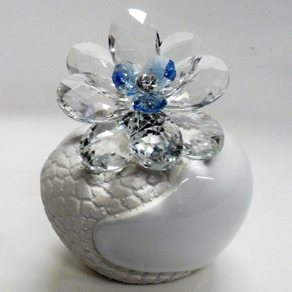 Variazione #17888 di Profumatore con fiore in cristallo e punto luce