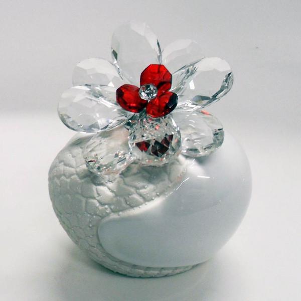 Variazione #17886 di Profumatore con fiore in cristallo e punto luce