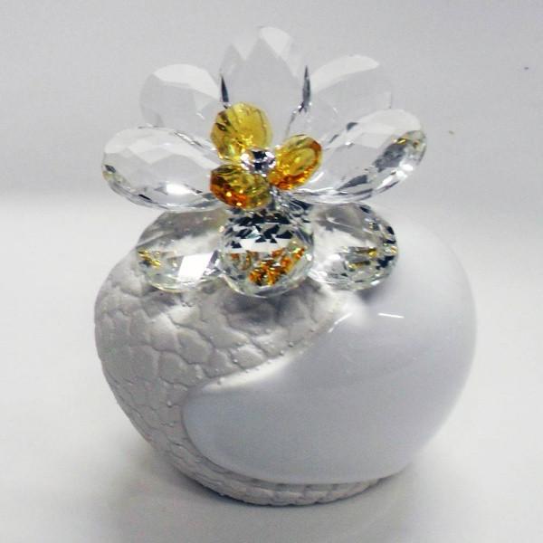 Variazione #17885 di Profumatore con fiore in cristallo e punto luce