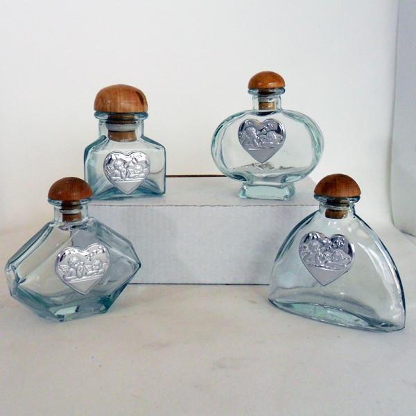 Barattoli in vetro con Angeli completi di scatola