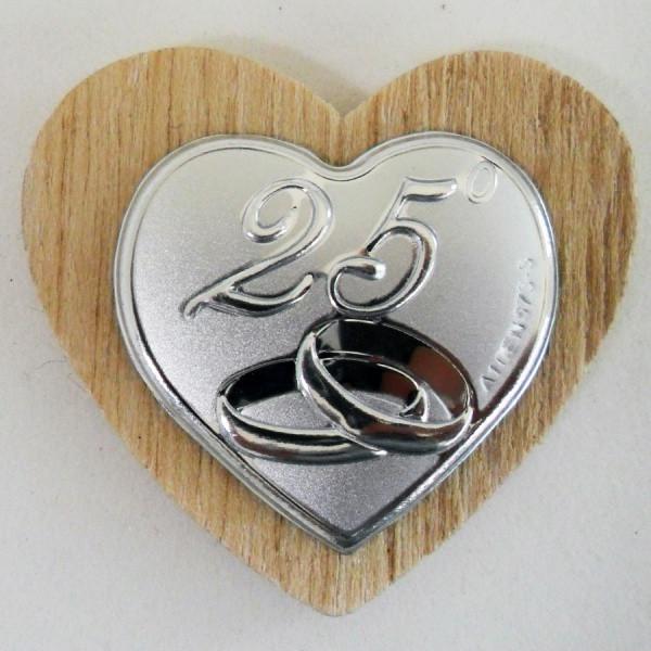 Xxv Anniversario Di Matrimonio.Calamita Per 25 Anniversario Di Matrimonio