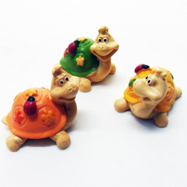Tartarughe portafortuna cm 6 vari soggetti