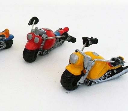 Moto in resina colori assortiti