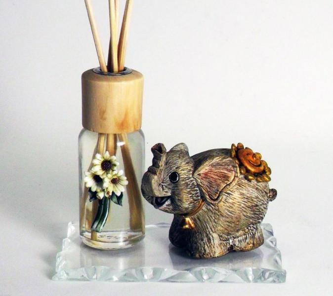 Profumatore con elefante portafortuna