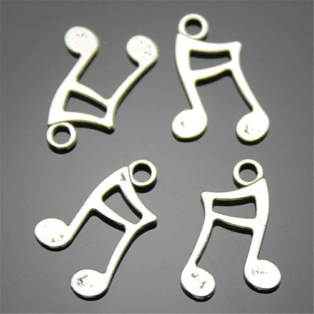 Ciondolo Ciondoli Charm Charms Nota Musicale Musica Confettata Fai da Te