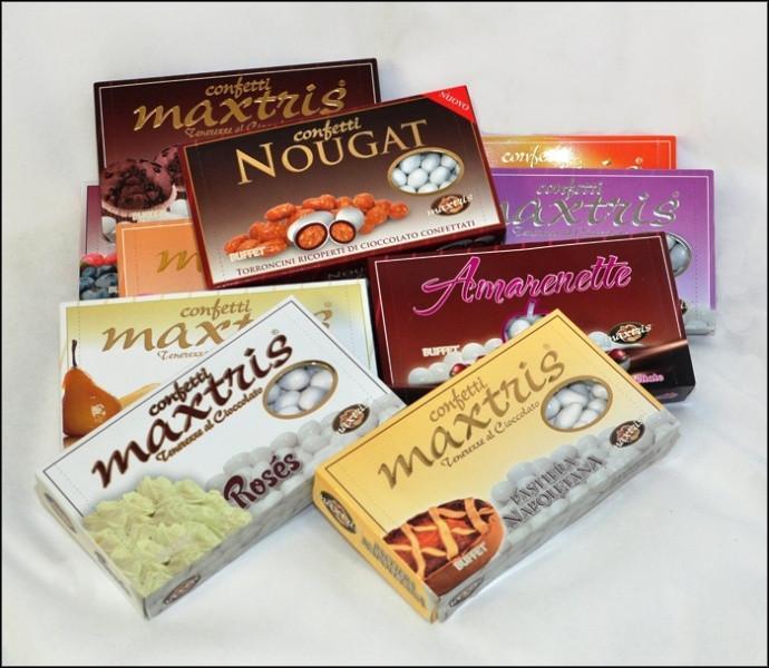 Confetti tenerelli MAXTRIS confezioni da 1 KG