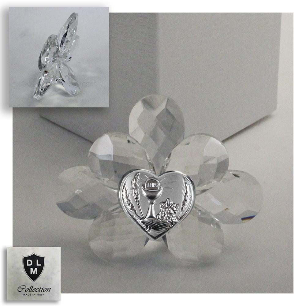 Icona Fiore in Cristallo