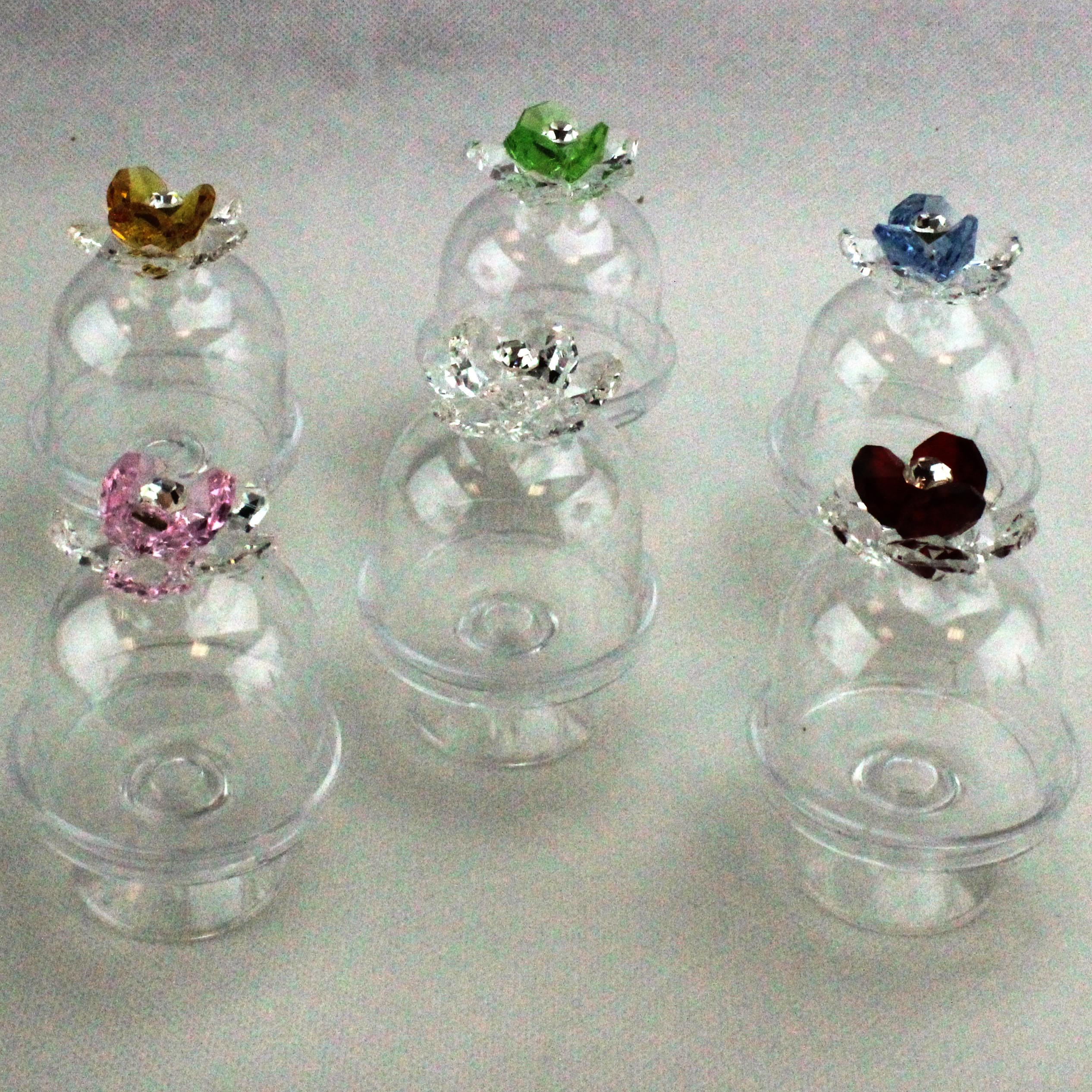 Scatolina alzatina con Fiore in cristallo_Misti