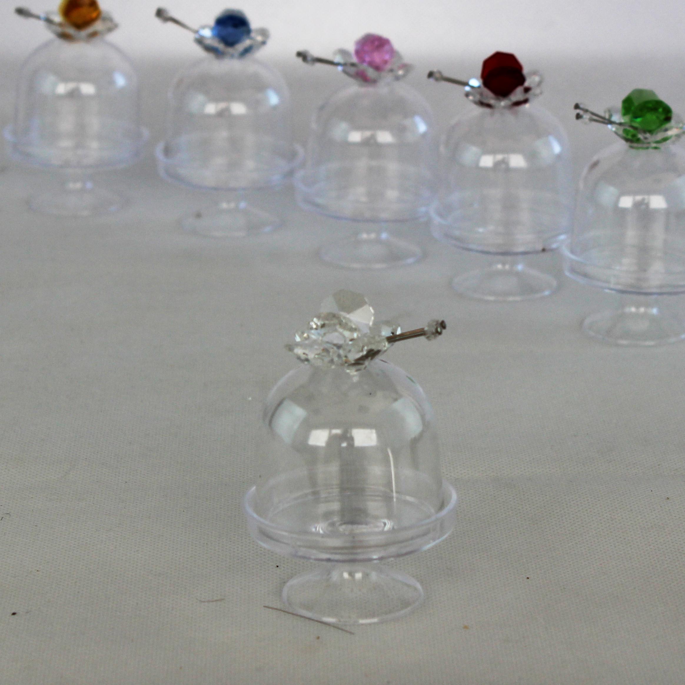 DLM - Scatolina alzatina con Farfalla in cristallo ...