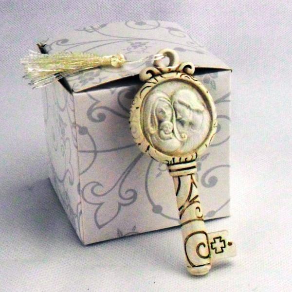Chiave con scatola e appendino, Sacra Famiglia