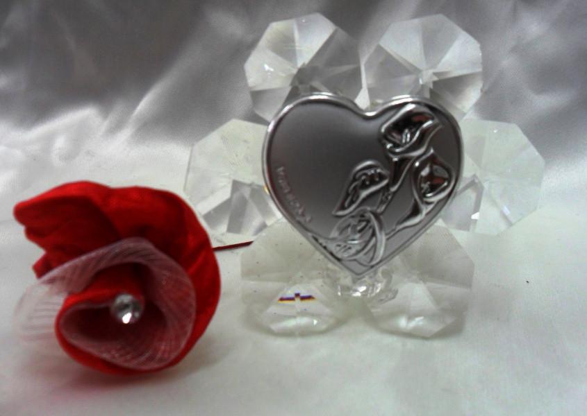 Icona in crtistallo per matrimonio e anniversari
