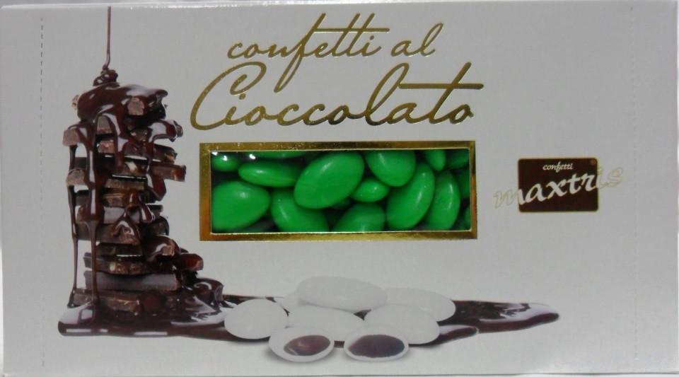Confetti al cioccolato verdi
