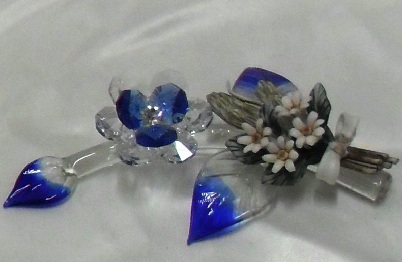 fiore in cristallo