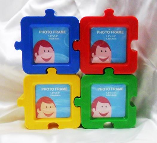 Portafoto in plastica vari colori