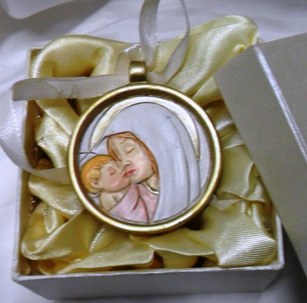 Medaglioni  con Madonna