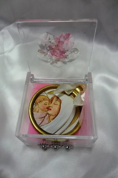 Scatoline con medaglione Madonna