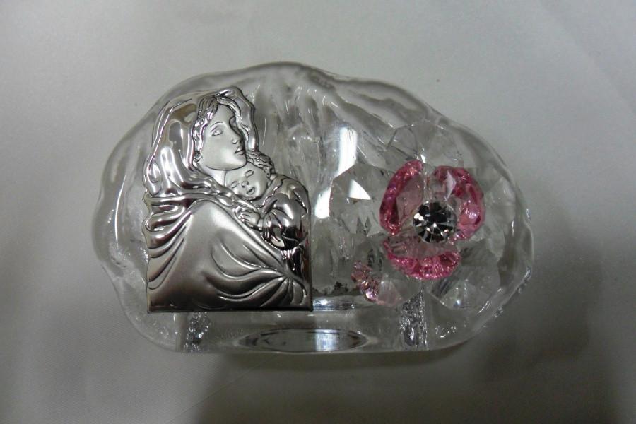 Icona Madonna con fiore