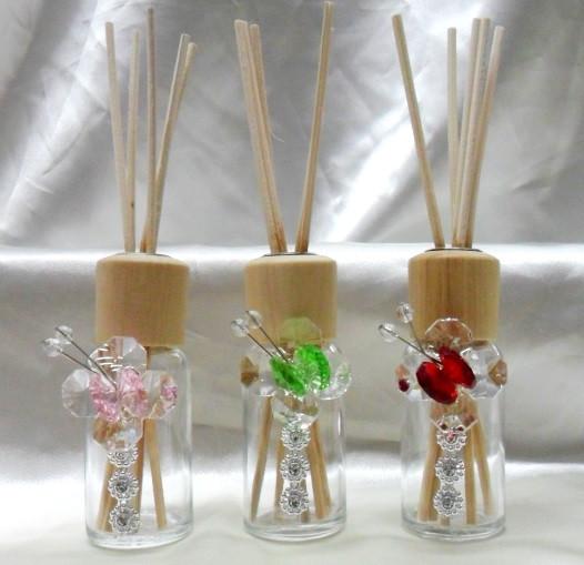 Diffusore con farfalle in cristallo e punti luce