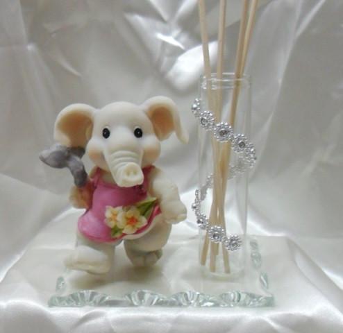 Profumatore con punti luce ed elefante