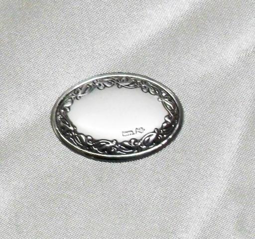 Piastra ovale cm 3x2
