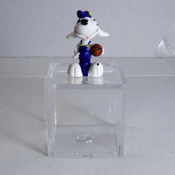 Barattoli con Cagnolino Blu in plastica