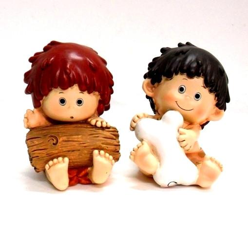 Salvadanai in ceramica  bimbo