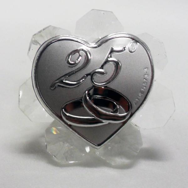 Icona per 25°anniversario di matrimonio