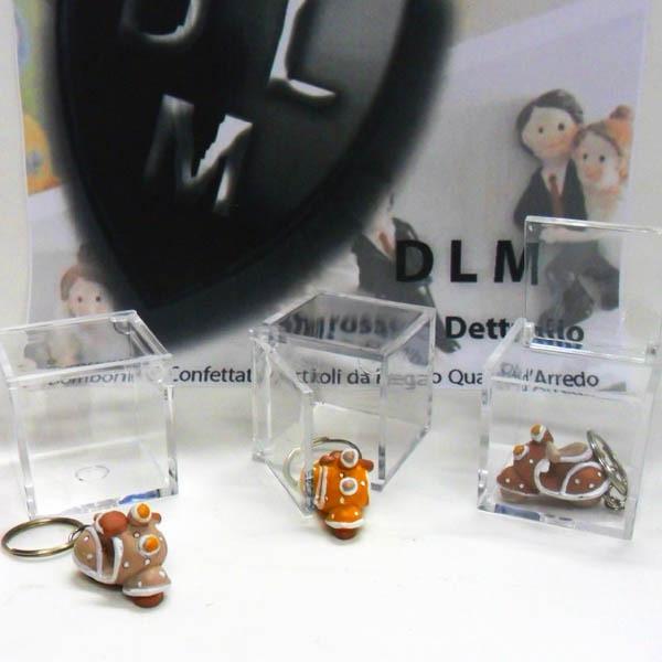 Portachiavi vespa con scatolina cm 5x5