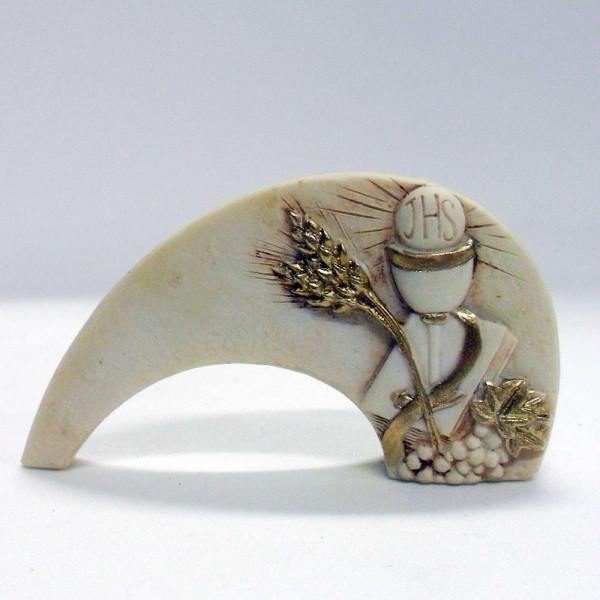 Icona calice comunione in resina cm 8