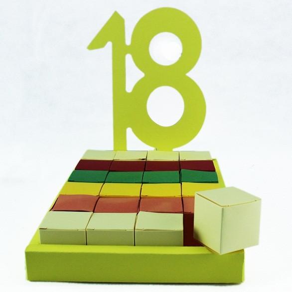 Bomboniere a Torta Fai da Te 18 Compleanno
