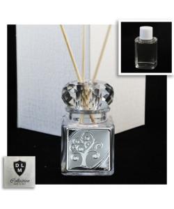 Diffusore Profumatore con Anello in cristallo e Albero della Vita Barattolo Bottiglia Profumo