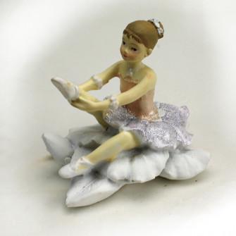 Ballerina Danza Classica Dance Musica in resina Segnaposto Confettata Comunione Nascita