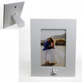 Bomboniera Portafoto Cornice Quadretto Quadrifoglio Calice della Prima Comunione 22x17 cm