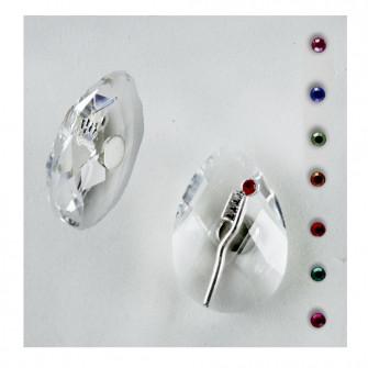 Calamita Magnete in Cristallo Spazzolino da Denti Dentista Laurea Odontoiatria Confettata Segnaposto