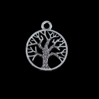 Ciondolo Ciondoli Charm Charms Albero della Vita Piccolo Life Tree Confettata Fai da Te