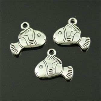 Ciondolo Ciondoli Charm Charms Conchiglia Pesce Pesciolino Nemo Confettata Fai da Te