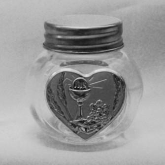 Barattolo in vetro con Calice Comunione