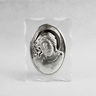 Icona in vetro con Gesù Segnaposto Confettata Fai Da Te Nozze Nascita