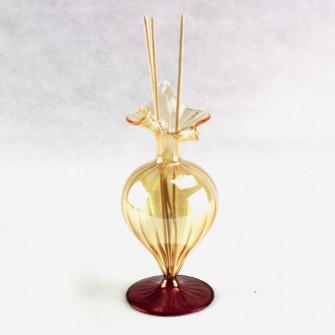 Profumatore ambra in vetro soffiato Nozze Matrimonio Anniversario C1727