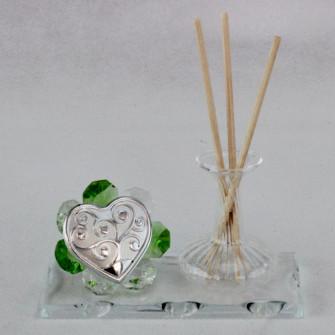 Profumatore in vetro soffiato e cristallo Albero della Vita