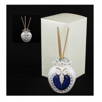Profumatore per Ambienti Diffusore Profumo in ceramica Colorato Blu Laurea Nozze Matrimonio Comunione