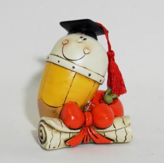 Salvadanai in ceramica vari soggetti per laurea