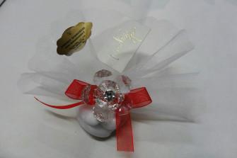 Confezione con velo disponibili in vari colori
